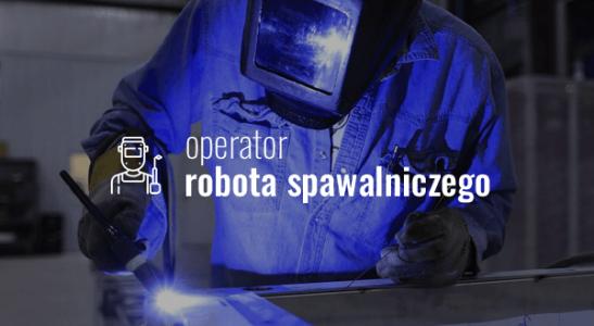 Operator robota spawalniczego