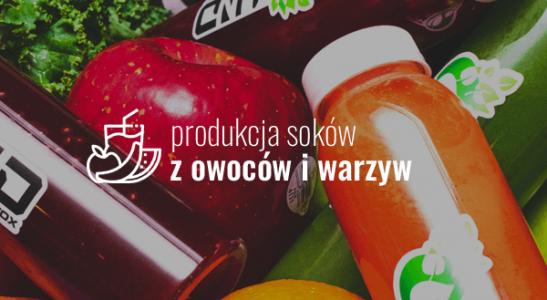Produkcja soków z owoców i warzyw