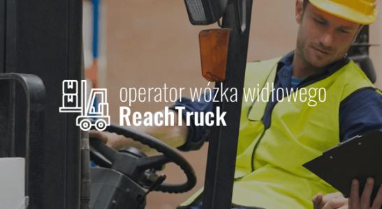Operator wózka widłowego ReachTruck